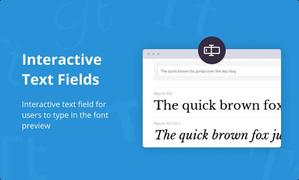 Jeg Font Preview - Easy Digital Downloads Extension WordPress Plugin - 4