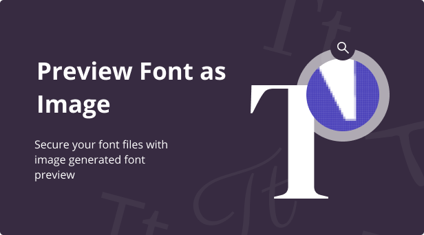 Jeg Font Preview - WooCommerce Extension WordPress Plugin - 2