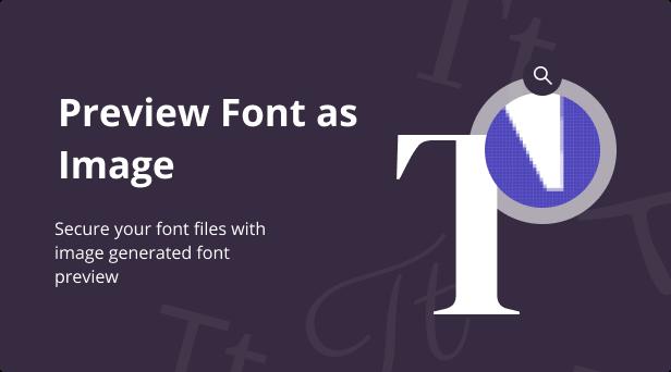 Jeg Font Preview - WooCommerce Extension WordPress Plugin - 2