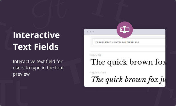 Jeg Font Preview - WooCommerce Extension WordPress Plugin - 4