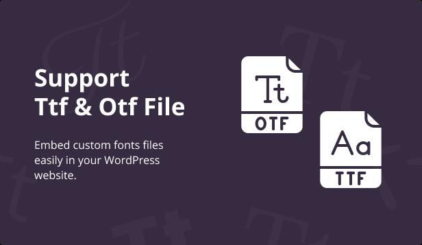 Jeg Font Preview - WooCommerce Extension WordPress Plugin - 3