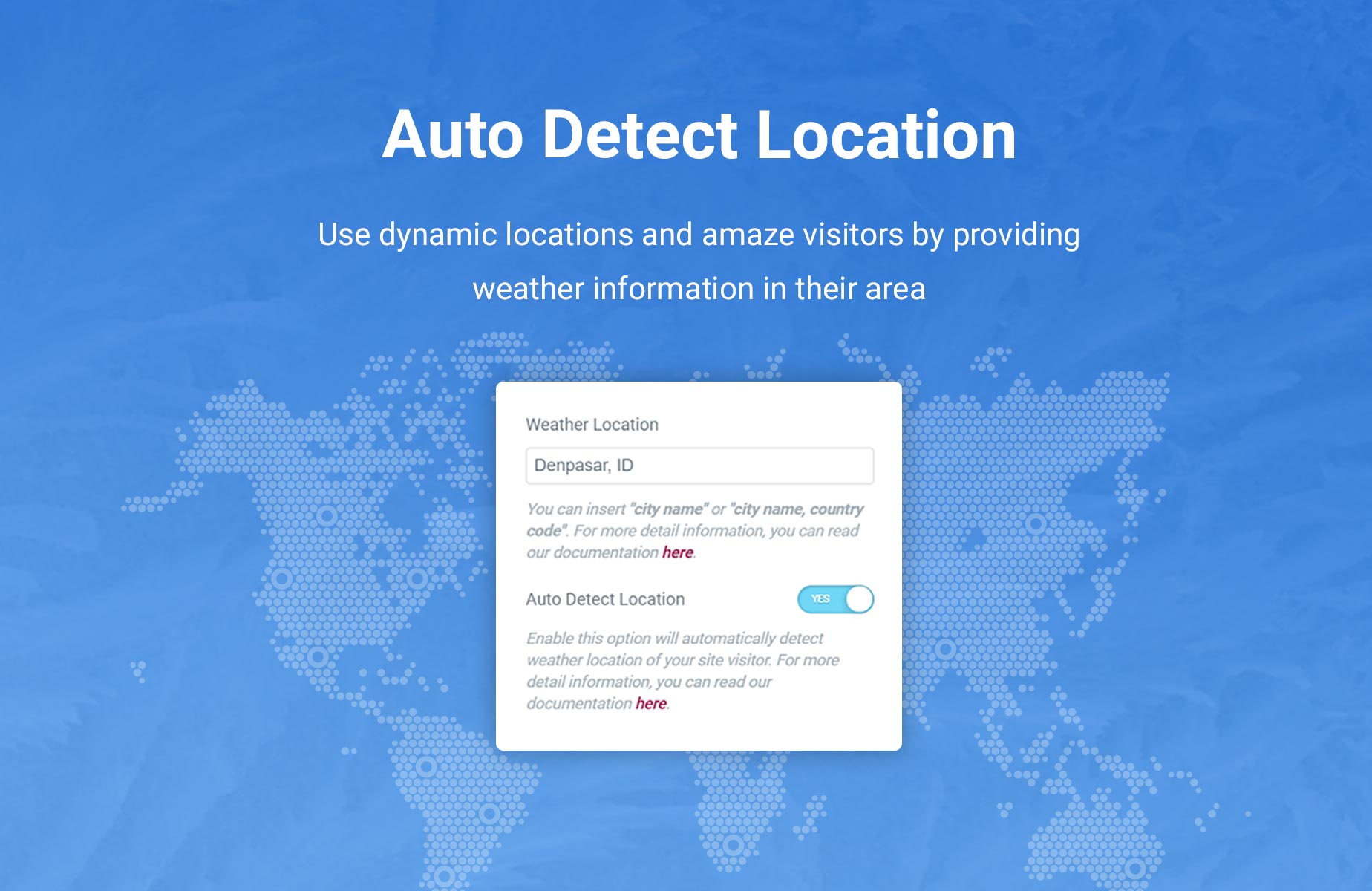 Jeg Weather Forecast WordPress Plugin - Add Ons for Elementor and WPBakery Page Builder - 2