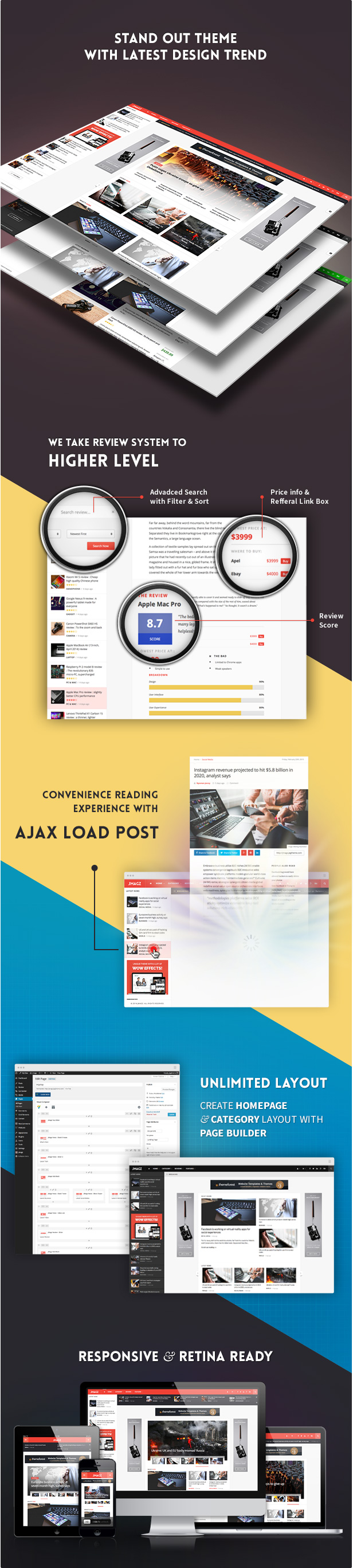 JMagz - Tech News Review Magazine WordPress Theme - 2